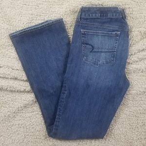 American Eagle Skinny Kick Jeans sz 10 AEO Denim X